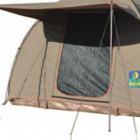 Howling moon 3,5M by 3M safari canvas dome