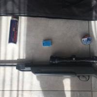 Black pallot gun. 110% condition