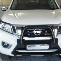 2017  Nissan Navara 2.3D 4X4 LE AT with Leather seats