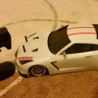 Bargain!! Complete Tamiya RC Car Nissan GTR Super Stock with Remote.