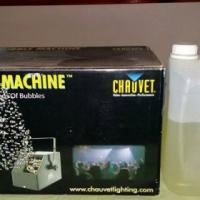 Chauvet Bubble Machine met liquid