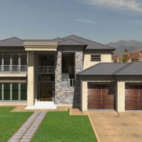 Modern newly build home in Zambezi Country Estate!  Could be your next address. Come and view this j