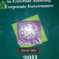 Advanced Case Studies In External Auditing & Corporate Governance - 2011 - F.E. Prinsloo.