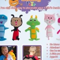 Soft Toy for Safety Belt