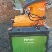 Shredder Flymo Pac A,2,5 kw motor,great condition.