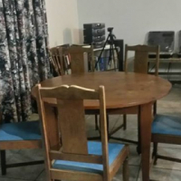 5 Seater Dining Room Table And Chairs