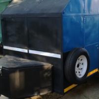 Big Multi purpose Double Axle Trailer with biult in watertank