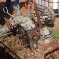 massey ferguson 135 gearbox and diff