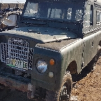 Registered 1966 Land Rover 2250cc lwb