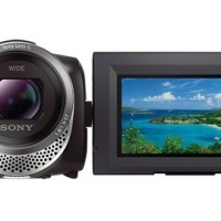 Sony 64GB HDR-PJ340 Full HD Handycam Camcorder with Built-in Projector (Black)