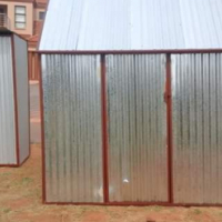 Steel Huts Pretoria 0633559906 Zozo Huts Pretoria North Steel Sheds Pretoria