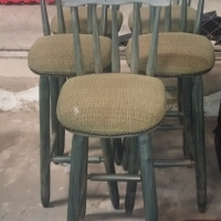 x5 Wooden bar stools