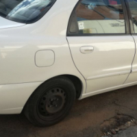 Daewoo Lanos 2001 Model with 4 Doors, Factory A/C and C/D Player