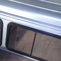 Steel Canopy as removed from Nissan Hardbody