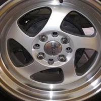 15z all wides rims and tyres 195/50/15