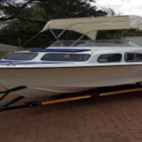 17ft Baronet cabin cruiser
