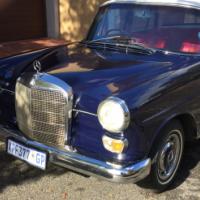 1967 Mercedes Fintail 200