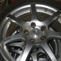 "17"" TSW MAGS WITH TYRES"