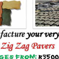 START MANUFACTURING YOUR OWN PAVERS