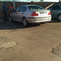 BMW 320d up for grabs