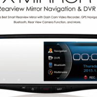 Rear View Mirror Navigation & DVR