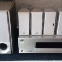 JVC 5.1 surround sound system