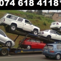 100 X Cars and bakkies wanted