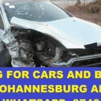 Absolutely any condition vehicles wanted in the Johannesburg areas