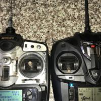 BARGAIN  2 JR RC Transmitters for SALE !! R2000