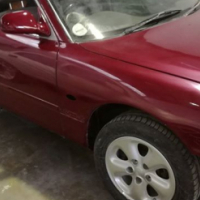 Mazda 626 2L unfinished project for sale(body on wheels)