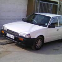 Mazda 323 smooth driving
