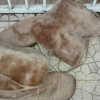 Brown Leather Ladies Boots