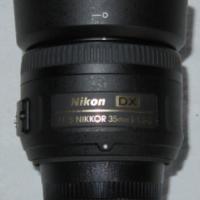 NIKON 35MM F/1.8G DX AF-S WORKS ONLY ON MANUAL FOCUS