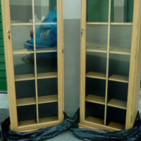 DVD Lockable cabinets