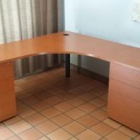 CHERRYWOOD FINISH OFFICE DESKS