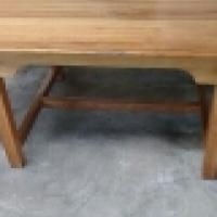 Saligna wood desk