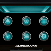 Audiobank NAB-6882UN Double Din DVD/GPS for Volkswagen