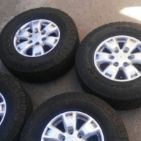 Ford Ranger Mags With Tyres 265 x 70 x 16 , tyres got more than 50% tread