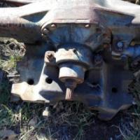 Landini 8550M vier wiel voorste as