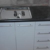White Painted Bathroom Vanity