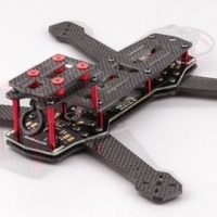BeeRotor 250 Carbon Fiber FPV Racing w/PDB and LED