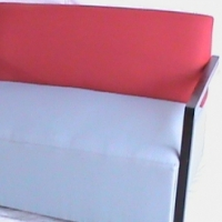 Avanto double seat red/grey  couch