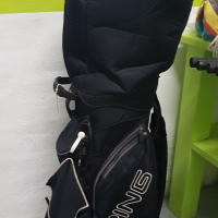Ping Golf clubs and bag + wood