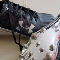 Size 7 Under Armour football boots