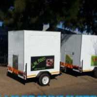 TRAILERS UNLIMITED TOP QUALITY MOBILE KITCHENS.
