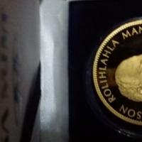 MANDELA GOLD MEDALLION