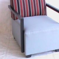Avanto single seat stripe chair