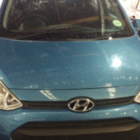 Hyundai i10 grand 1.25 motion 2016 Model with 4 Doors, Factory A/C and C/D Player