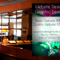 Professional website design for only R900