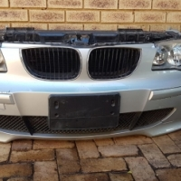 BMW 1 series complete front clip for sale